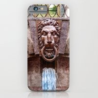 Weeping lion iPhone 6 Slim Case
