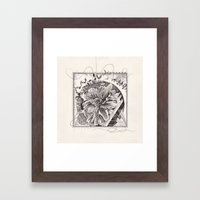 abstract doodle #3 Framed Art Print