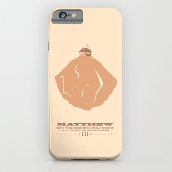 Matthew 7:24 iPhone & iPod Case
