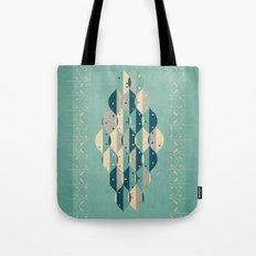 50's floral pattern IV Tote Bag