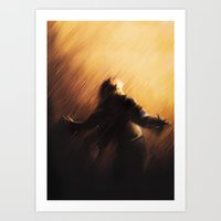 Shawshanked Art Print