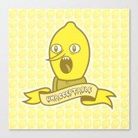 LemonGrunge Canvas Print