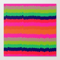 Eva stripe Canvas Print