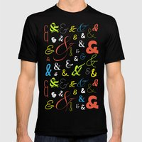 Ampersand Stories 3 Mens Fitted Tee Black SMALL