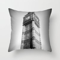 Ben Looms In Black And W… Throw Pillow