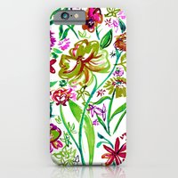 Gypsy Blooms - Day iPhone 6 Slim Case