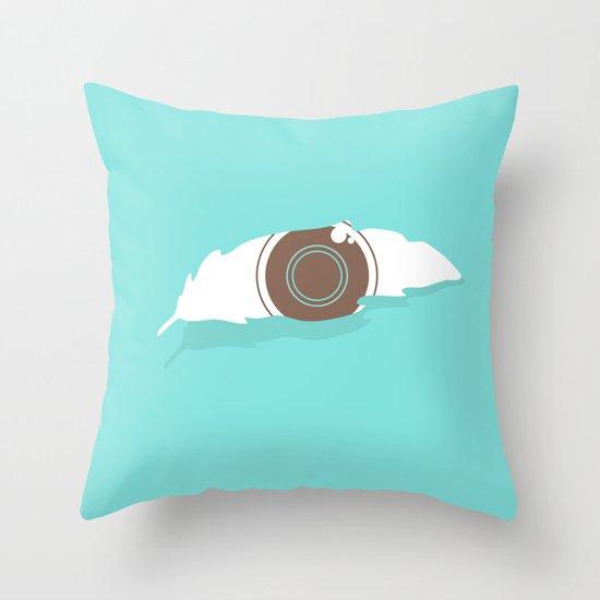 En-light-enment Throw Pillow