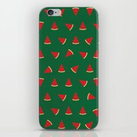 Sweet Watermelon Pictures Pattern iPhone & iPod Skin