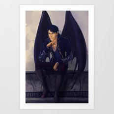 High Lord of the Night Court Art Print