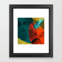 Spring Is For Feathers Framed Art Print