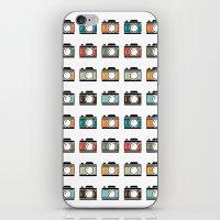 Colourful Camera Icons iPhone & iPod Skin