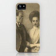 Mr. And Mrs. Frankenstei… iPhone (5, 5s) Slim Case