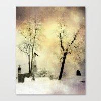 Burnt Sky Canvas Print
