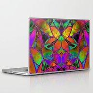 Floral Fractal Art G306 Laptop & iPad Skin