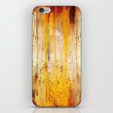 The Sun Is Dripping Down iPhone & iPod Skin