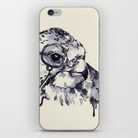 Monocle Bird iPhone & iPod Skin