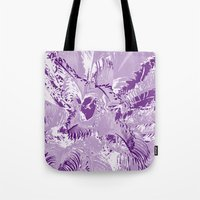 The mask - purple Tote Bag