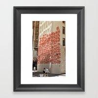 Graffiti On Abercrombie … Framed Art Print