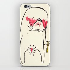 measure manatee iPhone & iPod Skin