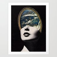 World In Your Mind Art Print