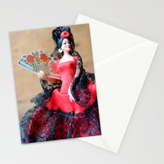 Flamenco doll  Stationery Cards