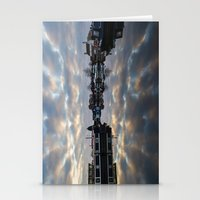 Dawn at West Stockwith Stationery Cards