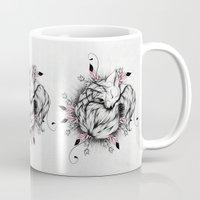 Little Fox Pink Version  Mug