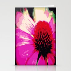 Pink Echinacea Coneflower  Stationery Cards