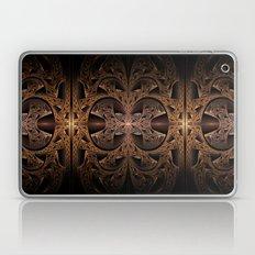 Steampunk Engine Abstract Fractal Art Laptop & iPad Skin