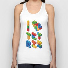 I Heart Tetris Unisex Tank Top