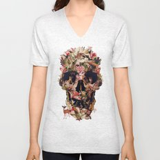 Jungle Skull Unisex V-Neck