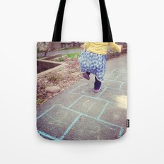 Hopscotch Tote Bag