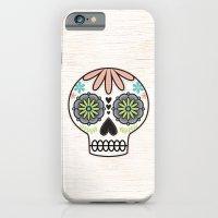 iPhone & iPod Case featuring Sugar Skull by Liz Urso