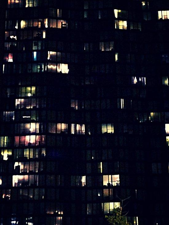 Night Time Lights Art Print