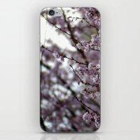 white wind. iPhone & iPod Skin