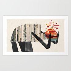 Headaches Art Print