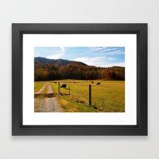 Tennessee Farm Framed Art Print