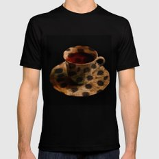 CHEE-TEA   SMALL Black Mens Fitted Tee
