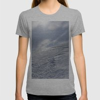 Alaska Womens Fitted Tee Athletic Grey SMALL