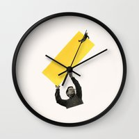 Jump in the Line Wall Clock