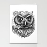Intense Owl G137 Stationery Cards