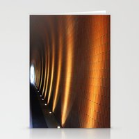 Tunnel Lights Stationery Cards
