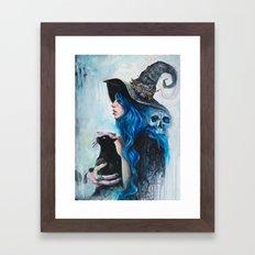 Blue Valentine Framed Art Print