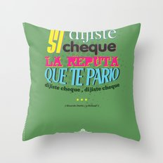Argentina Cinema Throw Pillow