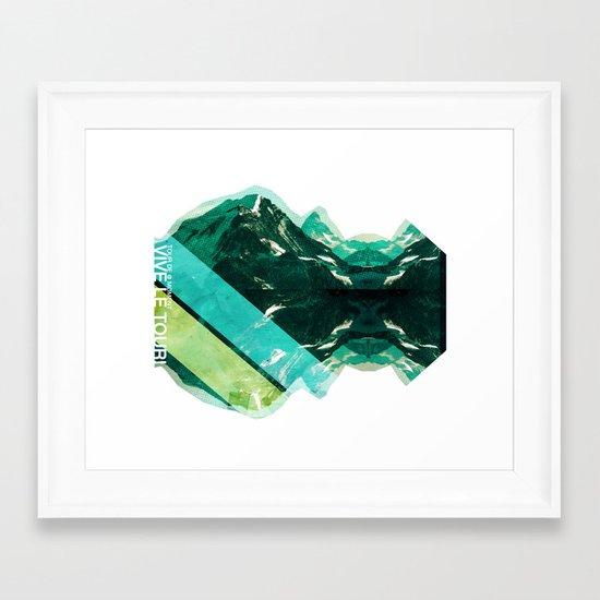 Tour Framed Art Print