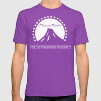 Mount Doom Mens Fitted Tee Ultraviolet SMALL
