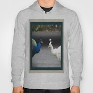 Mirror Image In Blue And… Hoody