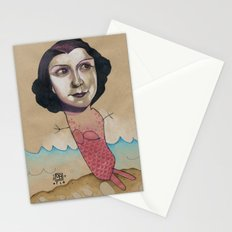 PINK MERMAID Stationery Cards
