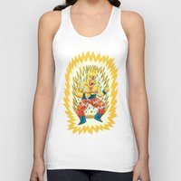 Unisex Tank Top featuring Super Springfieldian by Jack Teagle