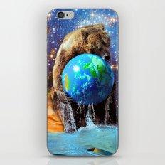 Give Planet Earth A Bear Hug! iPhone & iPod Skin